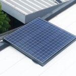 พัดลมกรองอากาศโซล่าเซลล์ (Solar Purify Ventilator)