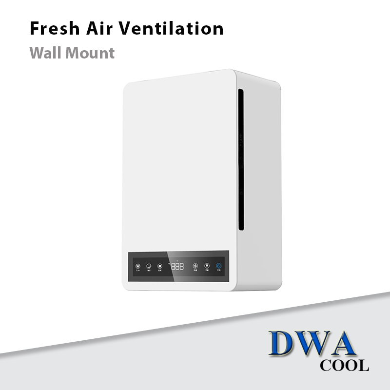 เครื่องเติมอากาศติดผนัง (Fresh Air Ventilation:Wall Mount)