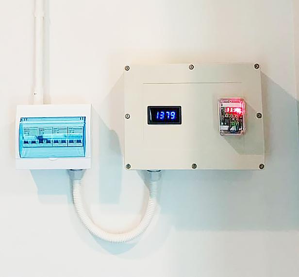 อุปกรณ์ควบคุมระบบระบายอากาศอัจฉริยะ (Smart Ventilation Controller)