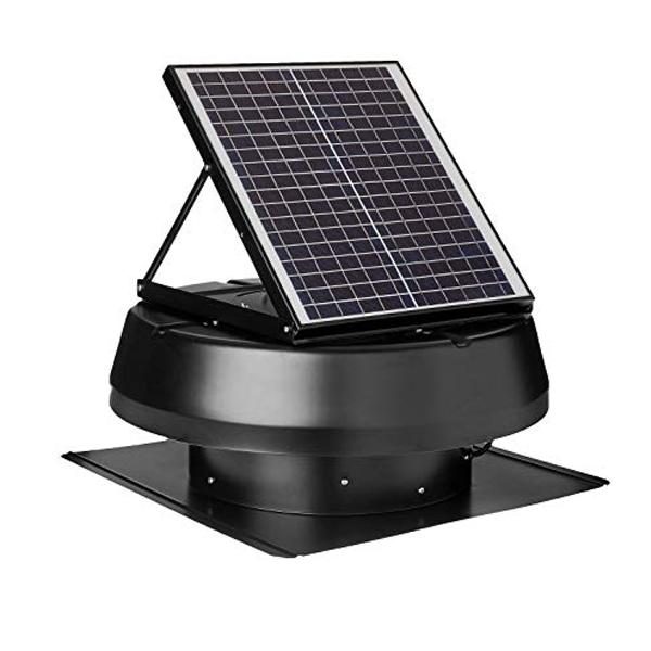 พัดลมระบายอากาศโซล่าเซลล์ติดหลังคา(Solar Roof Ventilator)