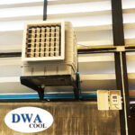 พัดลมไอน้ำโซล่าเซลล์ติดผนัง (Solar Wall Evaporative Cooler)