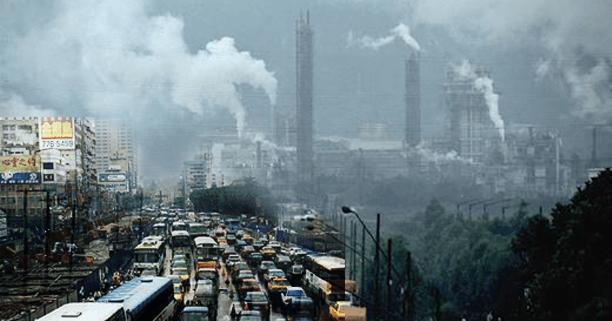 Bad air pollution